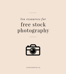 Ten Resources for Free Stock Photography