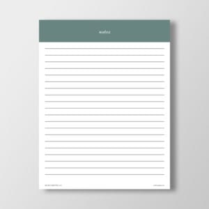 Blank Notes Printable